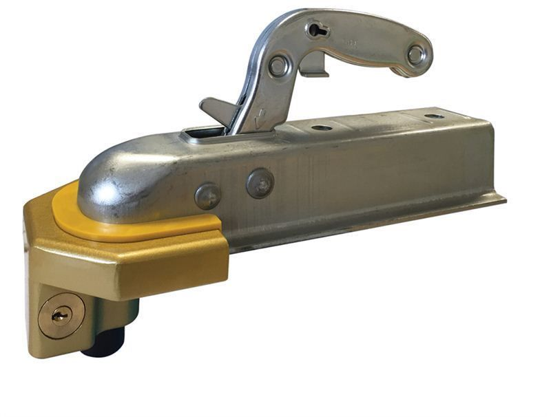 Types Of Trailer Hitches >> Heavy Duty Ball Tow Hitch Lock & Keys for Towing Caravan Trailer Security